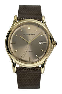 EMPORIO ARMANI SWISS ARS3004 Swiss Made gold-tone watch