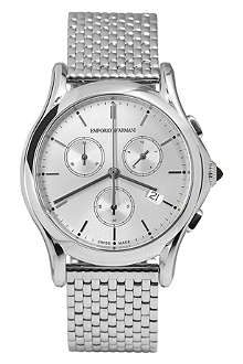 EMPORIO ARMANI SWISS ARS6007 stainless steel watch