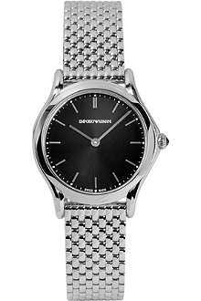 EMPORIO ARMANI SWISS ARS7000 Slim stainless steel watch