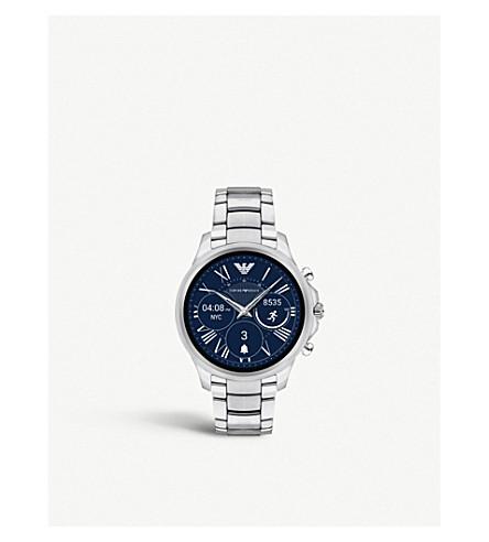 EMPORIO ARMANI 8217033 Alberto stainless steel smartwatch