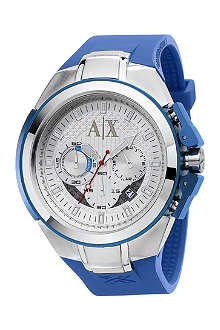 ARMANI EXCHANGE AX1041 two-toned chronograph watch