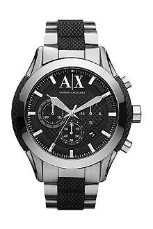 ARMANI EXCHANGE AX1214 Active Chronograph stainless steel watch