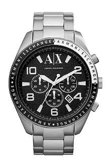 ARMANI EXCHANGE ax1254 stainless steel bracelet watch