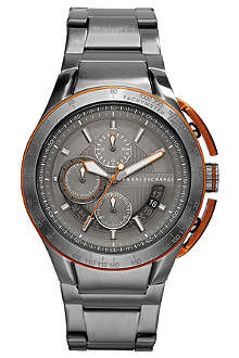 ARMANI EXCHANGE AX1405 stainless steel chronograph watch