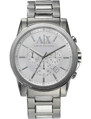 ARMANI EXCHANGE AX2058 Banks stainless steel watch