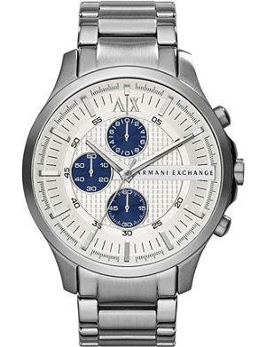 ARMANI EXCHANGE AX2136 stainless steel chronograph watch
