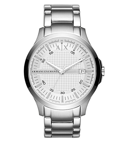 ARMANI EXCHANGE Ax2177 hampton stainless steel watch (Silver