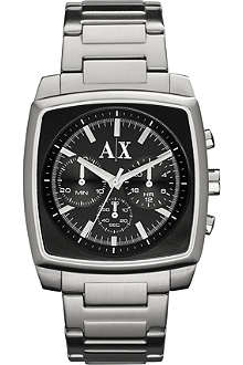 ARMANI EXCHANGE AX2253 stainless steel chronograph watch