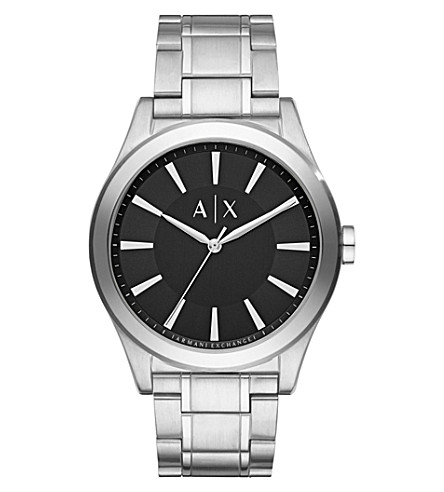 ARMANI EXCHANGE Stainless steel bracelet watch