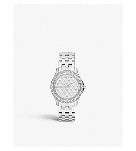 ARMANI EXCHANGE AX5215 Armani Exchange Lady Hampton stainless-steel watch