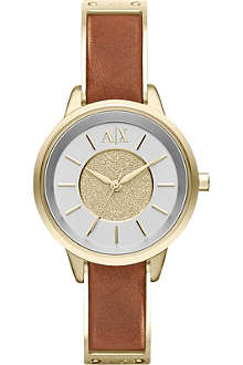 ARMANI EXCHANGE AX5352 Olivia gold-plated PVD watch