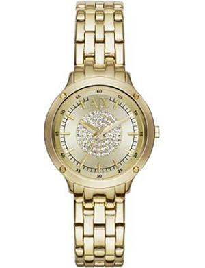 ARMANI EXCHANGE AX5417 gold toned-plated stainless steel watch