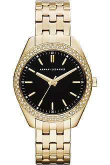 ARMANI EXCHANGE AX5510 gold-plated PVD watch