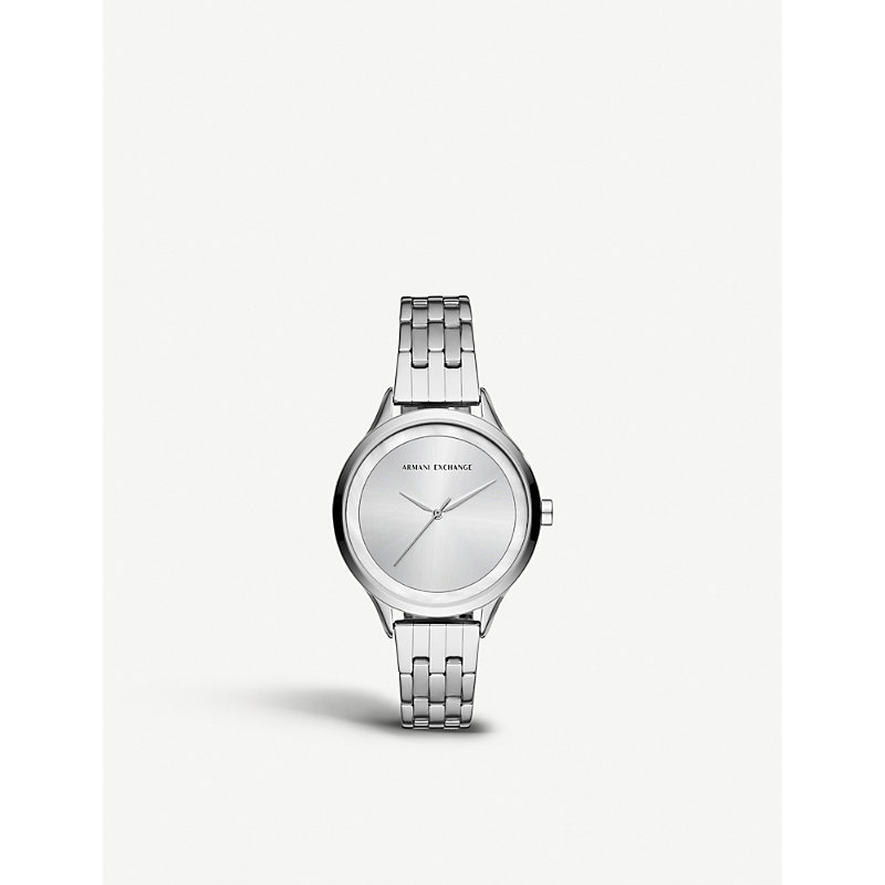 ARMANI EXCHANGE AX5600 STAINLESS STEEL WATCH