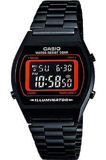 CASIO B640WB4BEF black ion-plated digital watch