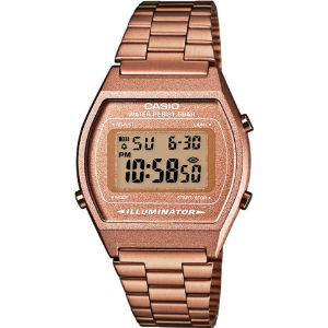 B640wc5aef unisex rose gold-plated digital watch