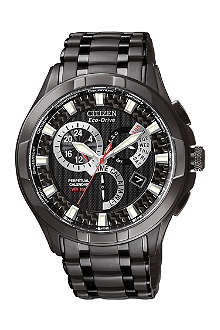 CITIZEN BL809752E Calibre 8700 black ion-plated watch