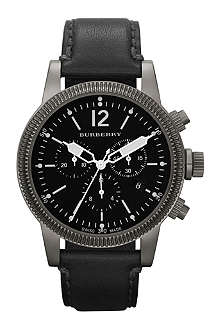 BURBERRY BU7813 stainless steel chronograph watch