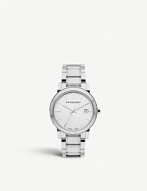 BURBERRY BU9000 stainless steel bracelet watch