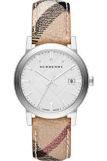 BURBERRY BU9025 The City leather watch