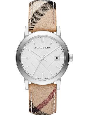 BURBERRY BU9025 The City leather watch