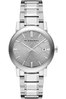 BURBERRY BU9035 stainless steel watch