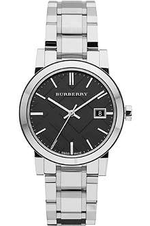 BURBERRY BU9101 stainless steel watch