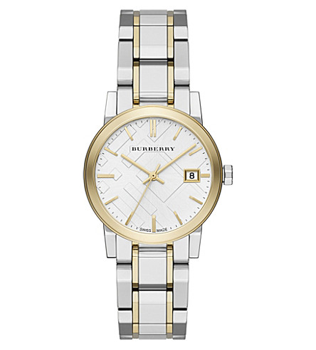 BURBERRY bu9115 The City stainless steel watch