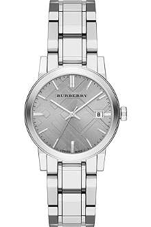 BURBERRY BU9143 stainless steel watch