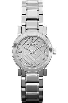 BURBERRY BU9213 stainless steel watch