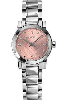 BURBERRY BU9223 The City stainless steel watch