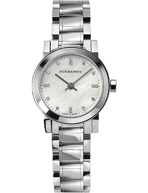 BURBERRY BU9224 The City stainless steel watch