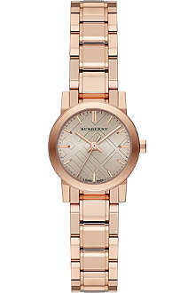 BURBERRY The City BU9228 rose gold-toned stainless steel watch
