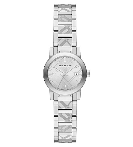 BURBERRY BU9233 The City stainless steel watch