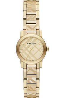 BURBERRY BU9234 gold-tone bracelet watch