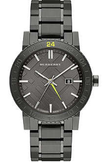 BURBERRY BU9340 gunmetal watch