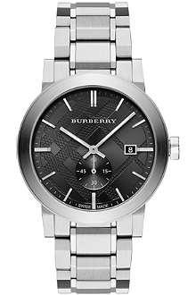BURBERRY BU9901 stainless steel watch