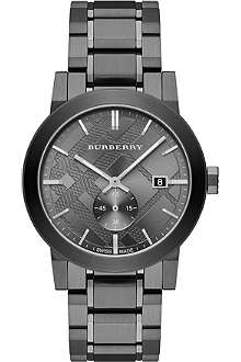 BURBERRY BU9902 stainless steel watch