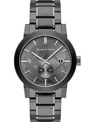 BURBERRY BU9902 stainless steel watch