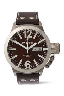 TW STEEL CEO Canteen brown dial watch