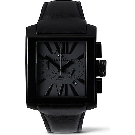 TW STEEL CE3013 GEO Goliath watch (Black