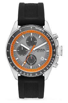 FOSSIL Mens silicone watch CH2900