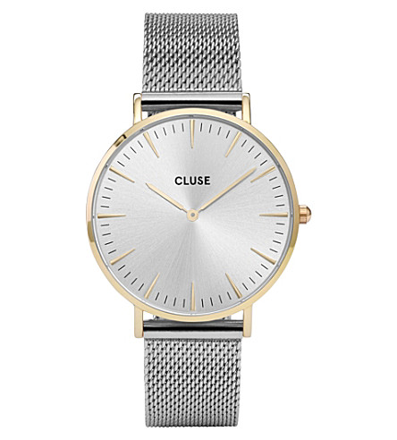 CLUSE CL18115 La Bohème stainless steel watch