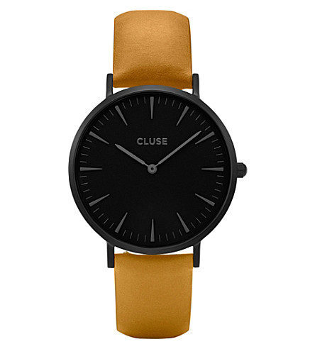 CLUSE CL18508 La Bohème leather watch