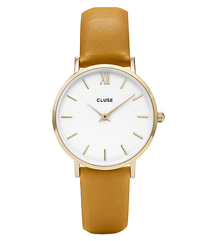 CLUSE CL30034 Minuit leather watch