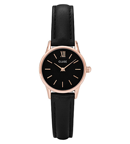 CLUSE CL50011 La Vedette leather watch