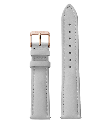 CLUSE CLS019 La Bohème stainless steel and leather strap