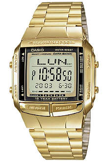CASIO DB360GN9AEF gold-plated digital watch