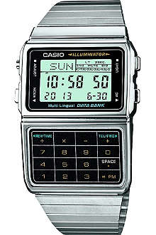 CASIO DBC611E1EF stainless steel digital watch