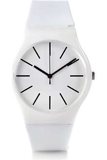 DM LONDON Round plastic watch